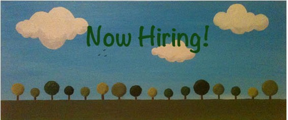 now hiring trees